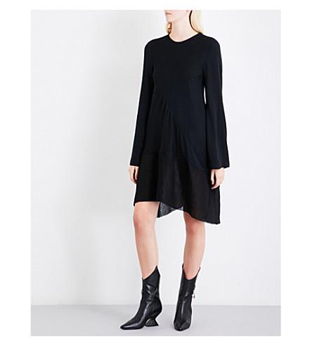ANN DEMEULEMEESTER Malone woven dress (Black