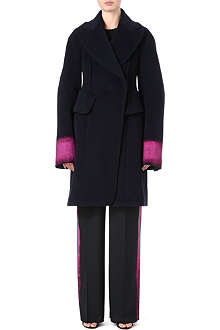 MAISON MARTIN MARGIELA Painted-cuffs wool coat