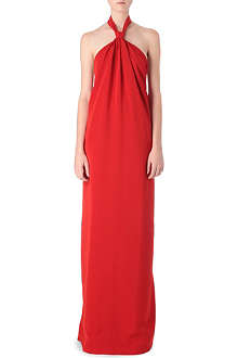 MAISON MARTIN MARGIELA Backless halter gown