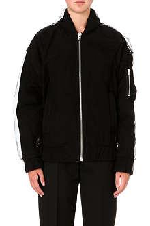 MAISON MARTIN MARGIELA Tulle-layered bomber jacket