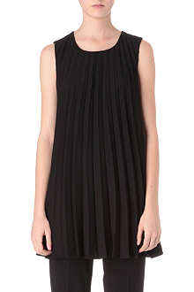 MAISON MARTIN MARGIELA Sleeveless pleated tunic top