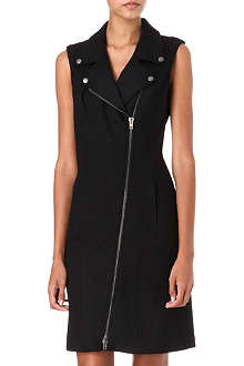 MAISON MARTIN MARGIELA Wool biker dress