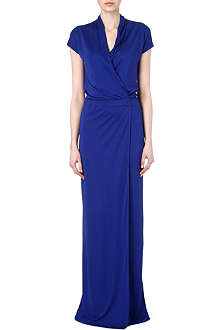 MAISON MARTIN MARGIELA V-neck maxi dress