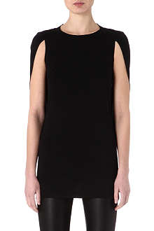 MAISON MARTIN MARGIELA Cape-sleeved top