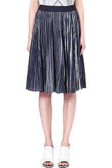 MAISON MARTIN MARGIELA Pleated midi skirt