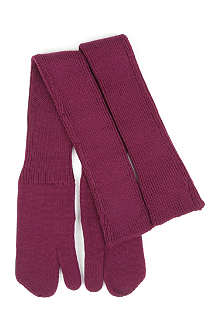 MAISON MARTIN MARGIELA Long woollen gloves