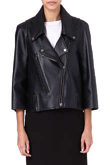 MAISON MARTIN MARGIELA Boxy leather jacket