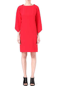 MAISON MARTIN MARGIELA Cape-back silk dress