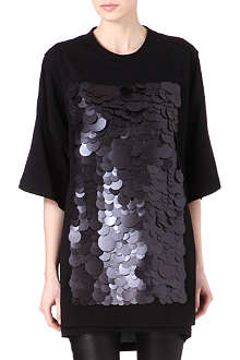 MAISON MARTIN MARGIELA Sequinned jersey dress