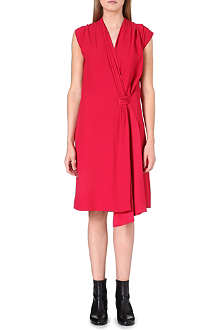 MAISON MARTIN MARGIELA Tie-detail wrap dress
