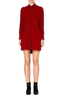 MAISON MARTIN MARGIELA Fabric overlay crepe dress