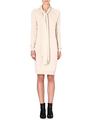 MAISON MARTIN MARGIELA Knitted cape dress