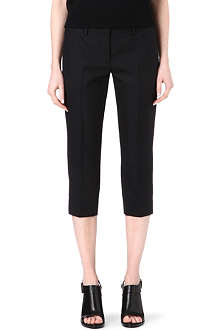 MAISON MARTIN MARGIELA Cropped wool trousers