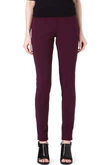 MAISON MARTIN MARGIELA Stretch-crepe leggings