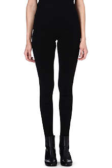 MAISON MARTIN MARGIELA Ruched jersey leggings