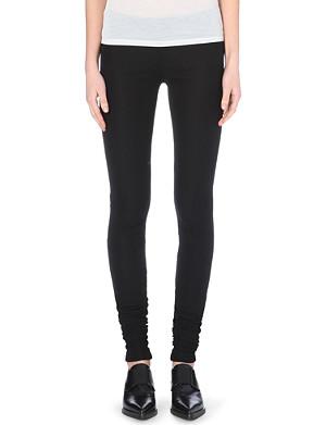 MAISON MARTIN MARGIELA Slim-fit jersey trousers