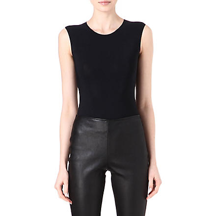MAISON MARTIN MARGIELA Sleeveless body (Black