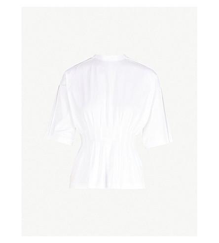 JIL SANDERRuched 弹力棉 t恤衫 (白色
