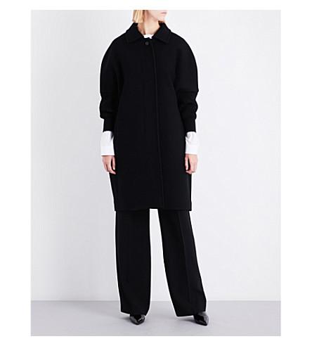 JIL SANDER Doha wool-blend coat (Black