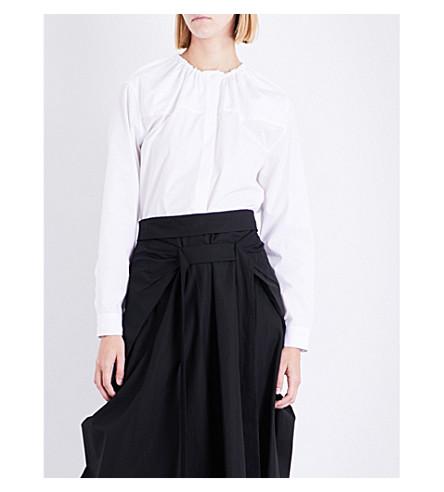 JIL SANDER Dalida cotton shirt (White
