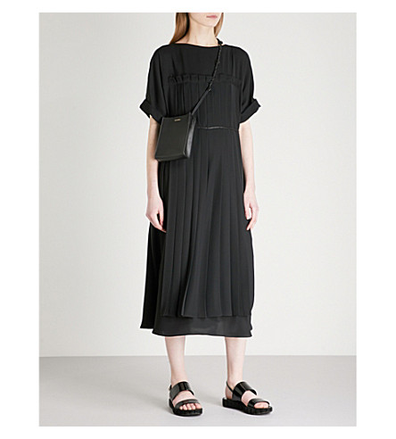 JIL SANDER Edition crepe dress (plinth