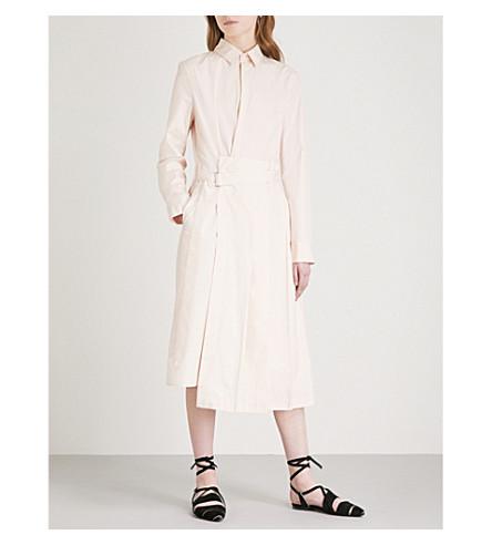 JIL SANDER Emulation cotton shirt dress (Light+pink