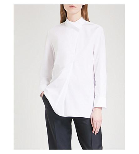 JIL SANDER Esther cotton-poplin shirt (White