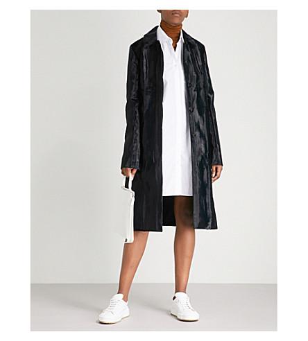 JIL SANDER Freeport velvet coat (Dark+blue