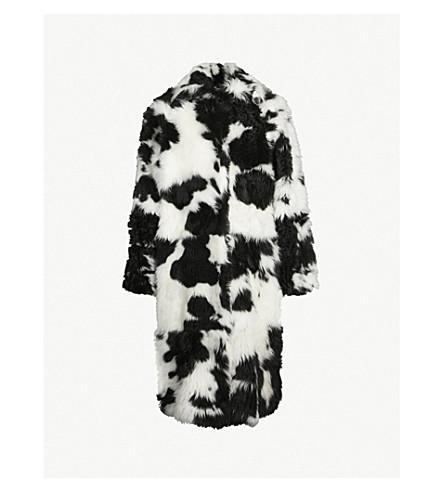 JIL SANDER Fitchburg shearling coat (White