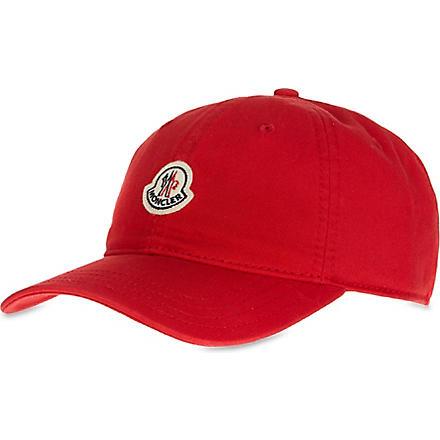 MONCLER Badge cap (Red
