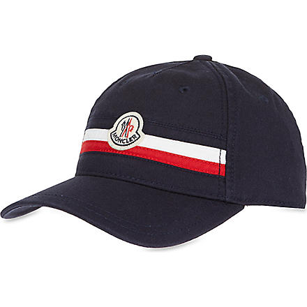 MONCLER Striped cap (Navy