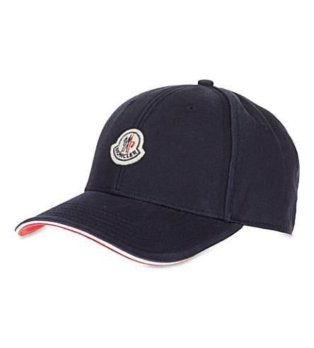 MONCLER Badge cap (Navy