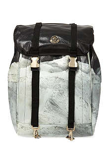 MONCLER Mountain print backpack