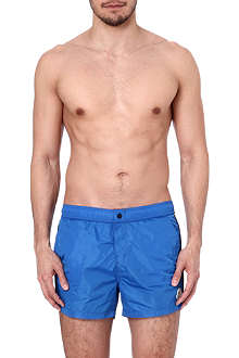 MONCLER Striped swim shorts