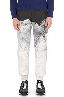 MONCLER Mountain-print track pants