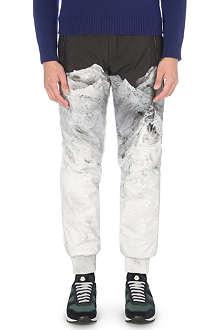 MONCLER Mountain-print track pants