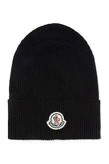 MONCLER Logo beanie hat