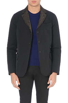 MONCLER Reversible quilted blazer