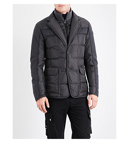 MONCLER Ardenne quilted shell down jacket (Black