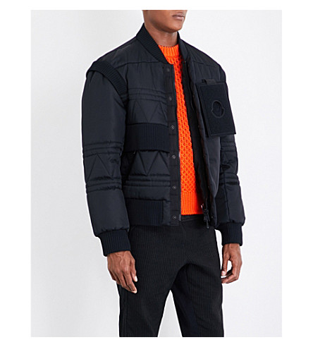 MONCLER Moncler x Craig Green Richie quilted down jacket (Black