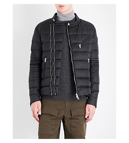 MONCLER Aubin quilted shell jacket (Black