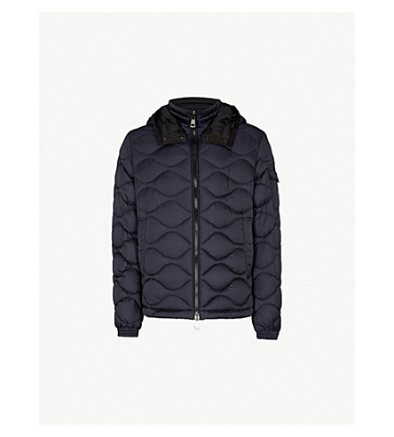 MONCLER Morand quilted-down jacket (Navy