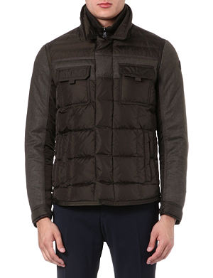 MONCLER Blais quilted panelled jacket