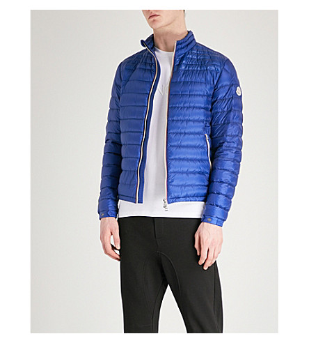 MONCLER Daniel quilted shell jacket (Bright+blue