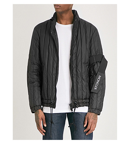 MONCLER Moncler x Craig Green hooded shell-down jacket (Black