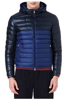MONCLER Emeric bi-coloured quilted jacket
