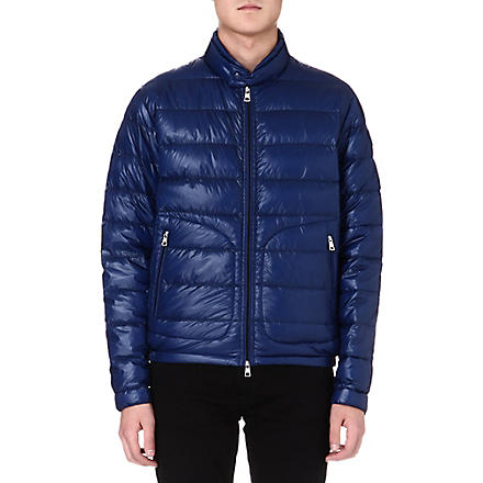 MONCLER Acorus quilted jacket (Blue
