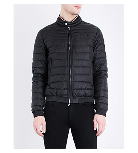 MONCLER Garin quited shell jacket (Black
