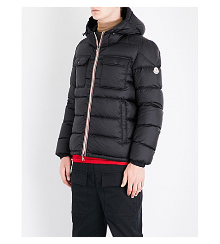 MONCLER Morane padded shell jacket (Black
