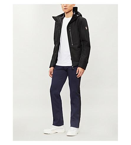 MONCLER GRENOBLE Bessans shell-down jacket (Black